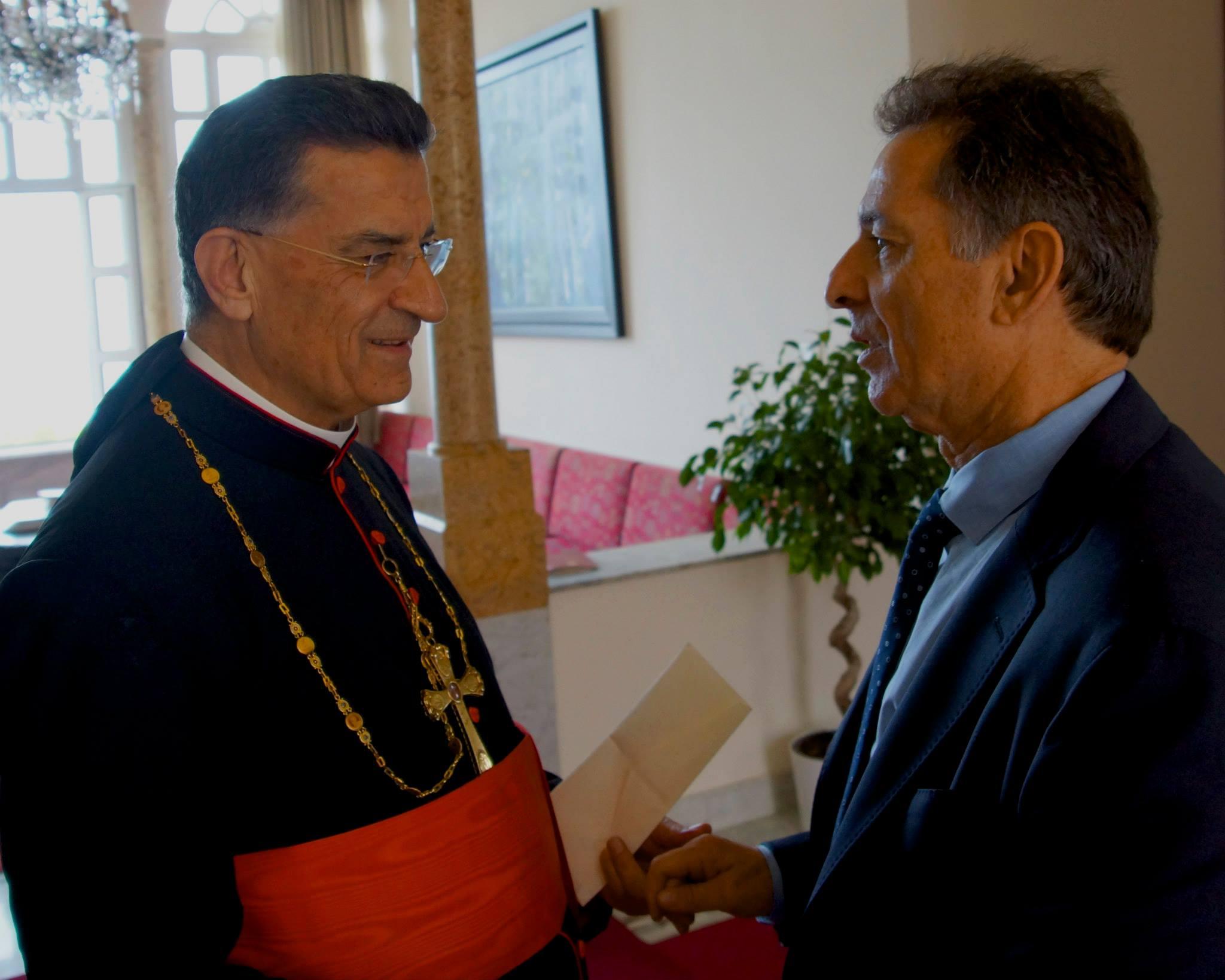 Meeting at Patriarch Bechara al Rahi Resideance in Lebanon