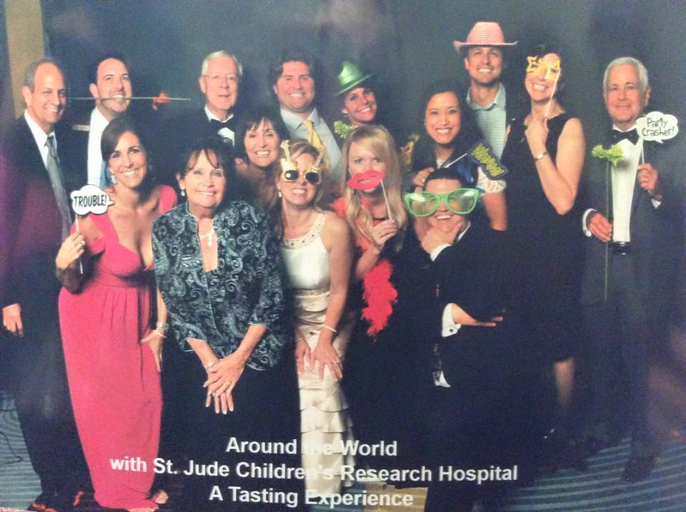 Sponsoring the Third Annual Around the World with St. Jude Children's Research Hospital Benefit