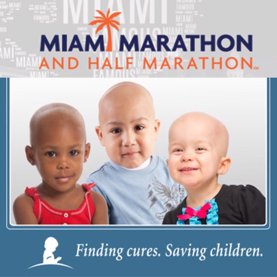 Sponsoring the IAM St. Jude Heroes Team for the 2017 Miami  Marathon and Half Marathon