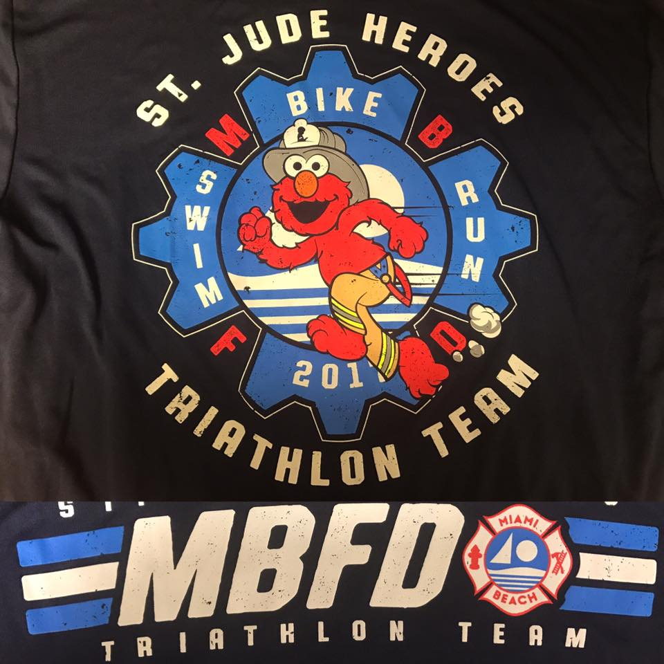 Miami Beach Fire Fighters join the St. Jude Hero Team