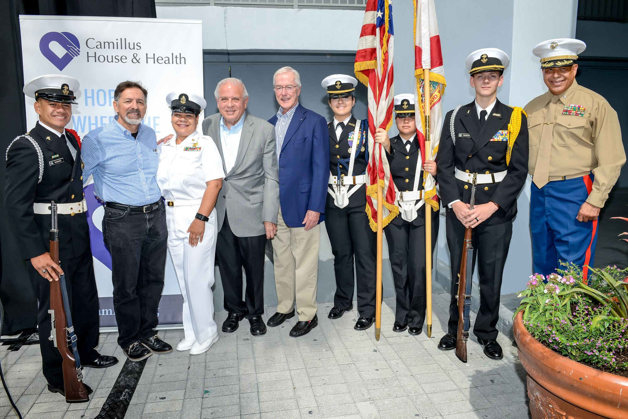 Patriot Project a Veterans Housing Program sponsored by the Anthony R. Abraham Foundation