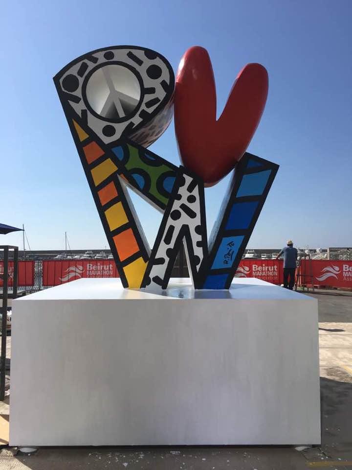 A Gift to the Beirut Marathon Association and Lebanon