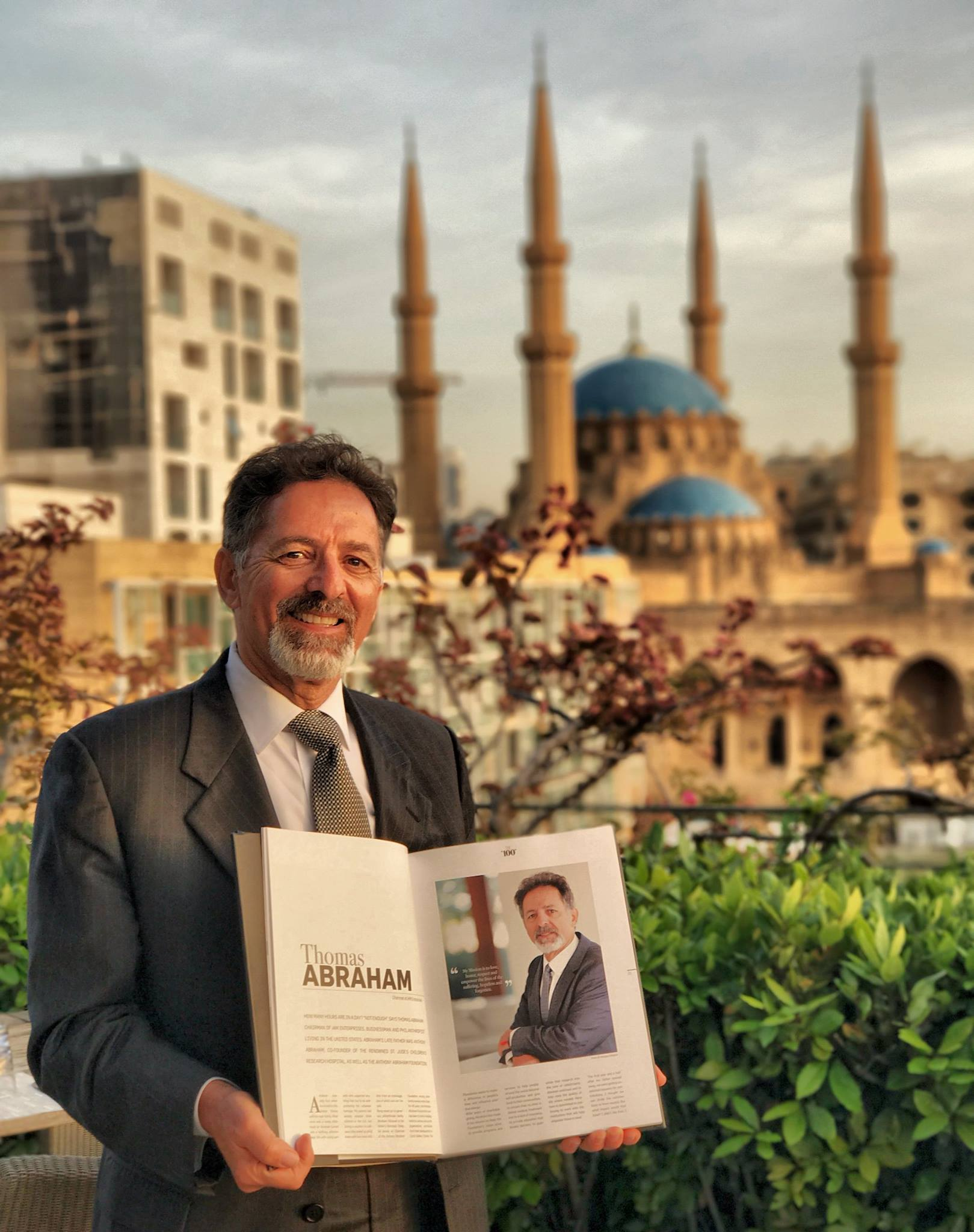 100 influential Lebanese individuals around the globe