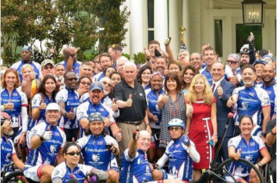 Celebrating Project Hero Veterans at Vice President Pence Residence