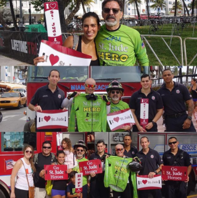 South Beach Fire Department join the iAM St. Jude Hero Team