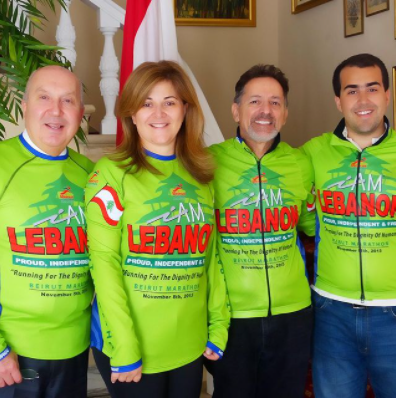 Visiting Lebanese Ambassador to the US in Support of the Beirut Marathon
