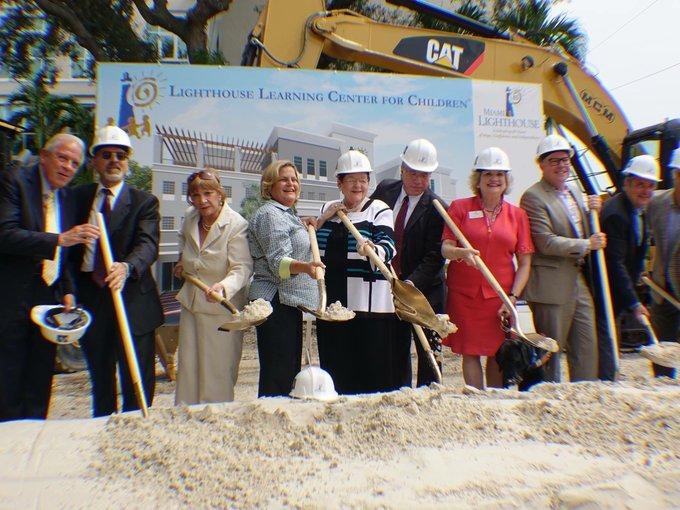 Groundbreaking For Lighthouse Learning Center for Children